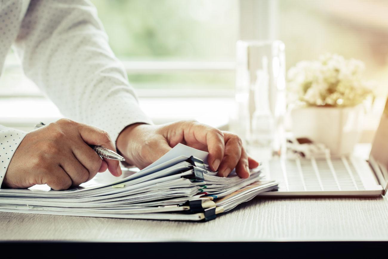 Unterlagen für den Immobilienverkauf