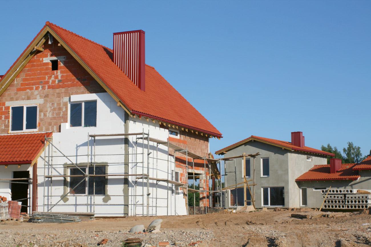 Neubau - nicht fertig