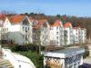 Zwillinge im Doppelpack - wunderschöne Terrasse mit Ostseeblick flankiert von zwei kleinen Traumappartements - Villa Margot