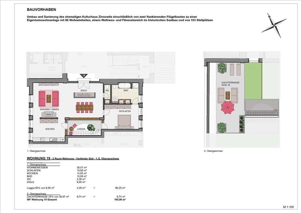Kulturhaus Zinnowitz – Wohnen.Wellness.Insel Usedom, 17454 Zinnowitz, Loft/Studio/Atelier